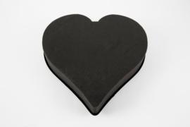 OASIS® Eychenne® ALL BLACK™ Hart  33cm  - 2 stuks