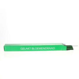 Draad groen gelakt 0,6 mm x 40cm - 2kg