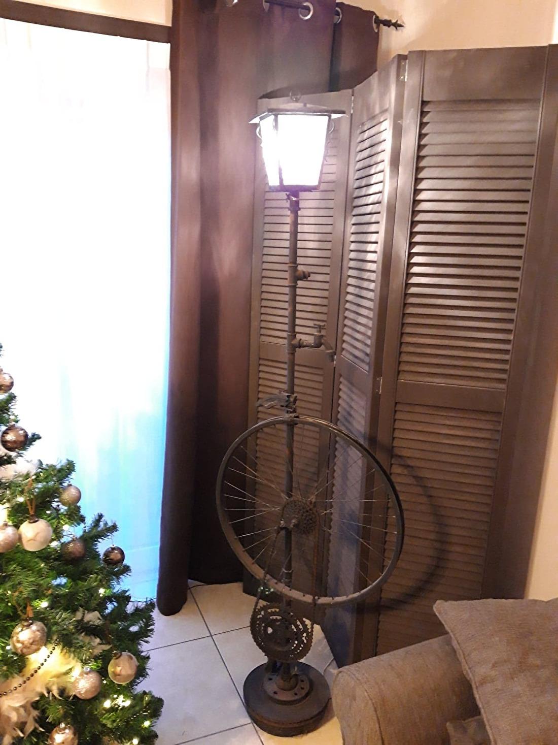 DIY staande lamp