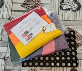 Doe-Het-Zelf-Maak Pakket Regenboog Snuffelmat Large 40x28cm