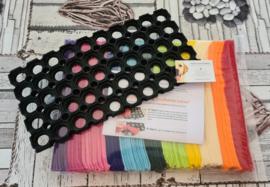 Doe-Het-Zelf-Maak Pakket Regenboog Snuffelmat Rechthoek 40x20cm
