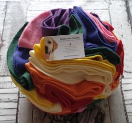 Regenboog Wolken Snuffelbal 23cm