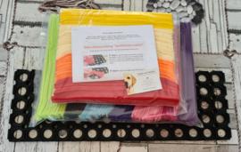 Doe-Het-Zelf-Maak Pakket Regenboog Snuffelstrook XL 60x20cm