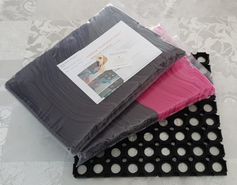 Doe-Het-Zelf-Maak Pakket Snuffelmat Vierkant Large 36x36cm