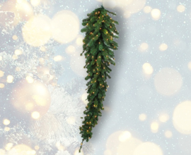 Arbre de Noël suspendu