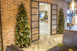 Arbres de Noël muraux (demi-arbres de Noël)