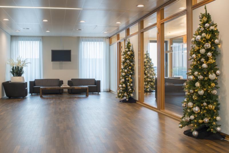 Wand Kerstbomen (Halve kerstbomen)