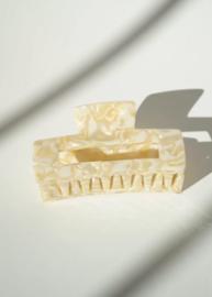 Haarclip Medium - Ivory