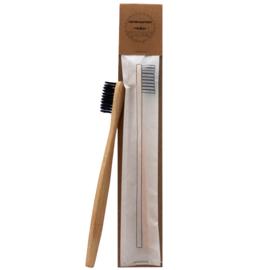 Tandenborstel bamboe - Zwart