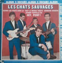 Les Chats Sauvages Avec Dick Rivers Et Mike Shannon – Les Chats Sauvages