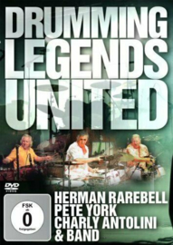 Drumming Legends United By Herman Rarebell,Pete York, Charly Antolini