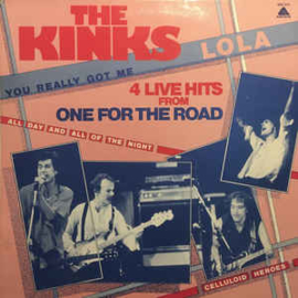 The Kinks ‎– 4 Live Hits From One For The Road