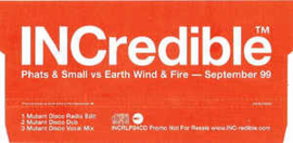Phats & Small Vs Earth Wind & Fire – September 99
