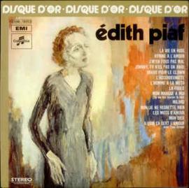 Edith Piaf – Le Disque D'Or D'Edith Piaf