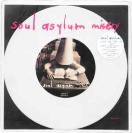 Soul Asylum ‎– Misery  (Numbered, White Marbled)