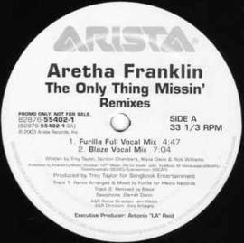 Aretha Franklin – The Only Thing Missin'