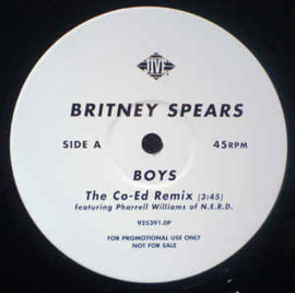 Britney Spears ‎– Boys (The Co-Ed Remix)