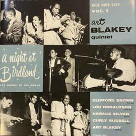 Art Blakey Quintet – A Night At Birdland, Volume One
