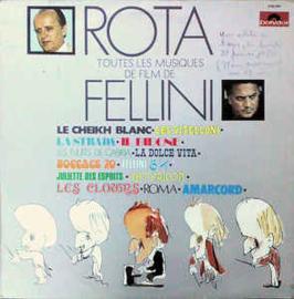 Rota – Toutes Les Musiques De Film De Fellini
