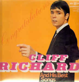 Cliff Richard ‎– Congratulations - Cliff Richard And His Best Songs