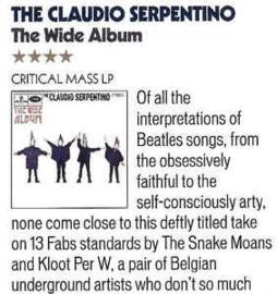 The Claudio Serpentino – The Wide Album
