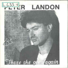 Peter Landon ‎– There She Goes Again