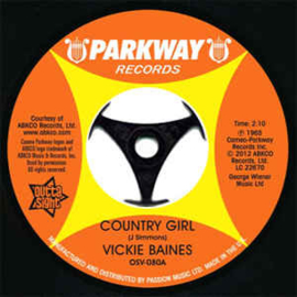 Vickie Baines ‎– Country Girl / Are You Kidding