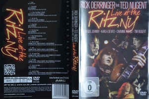 Rick Derringer Feat. Ted Nugent ‎– Live At The Ritz, NY