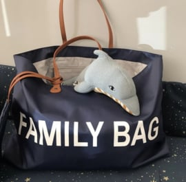 Family bag marine blauw