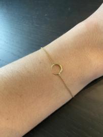 Armband hoorn 18K goud