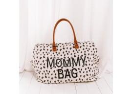 Luipaard mommy bag