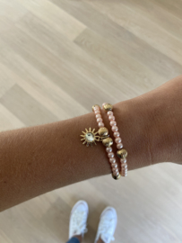 Set armbandjes Annelien roze