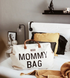 Mommy bag ecru wit