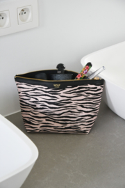 Soft tiger make-up tas