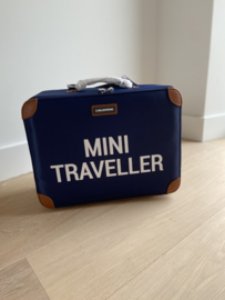 Mini traveller valiesje navy
