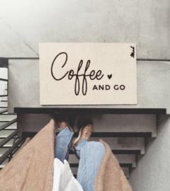 Harde mat 'Coffee & Go '