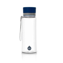 Kunststof drinkfles plain blauw