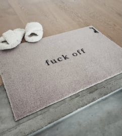 Harde mat 'Fuck off'
