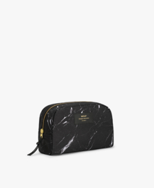 Black marble make-up tas