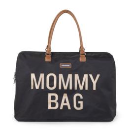 Mommy bag zwart/goud