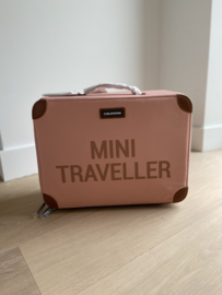 Mini traveller valiesje roze