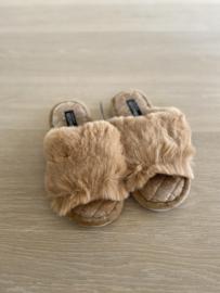 Slippers Camille bruin