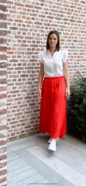 Lange rok red