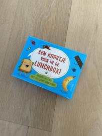 Een kaartje voor in de lunchbox