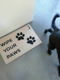 Harde mat 'wipe your paws'