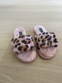 Slippers Astrid roze