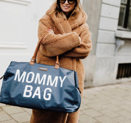 Mommy bag marine blauw