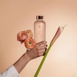 Glazen drinkfles Bloom