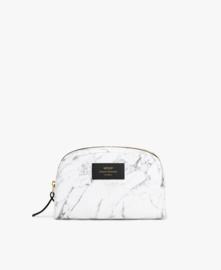 White marble make-up tas