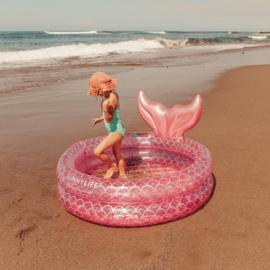 Zwembadje: zeemeermin